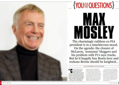 Max Mosley Interview