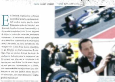 Pirelli – Mercedes Benz Magazine France