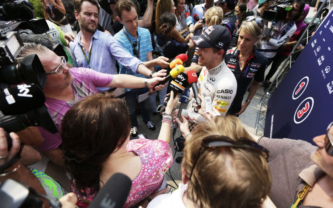 """It is hard for a young driver to get it right in today's media world"""