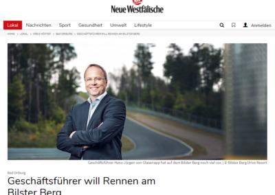 Geschäftsführer will Rennen am Bilster Berg – Neue Westfälische