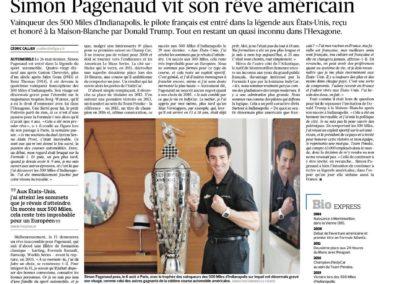 IndyCar: Borg-Warner Trophy – Le Figaro