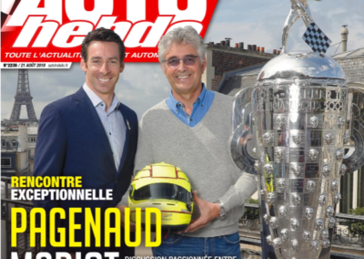 Meeting between Simon Pagenaud and Marc Madiot