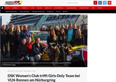 DSK Women's Club – Speed Magazin