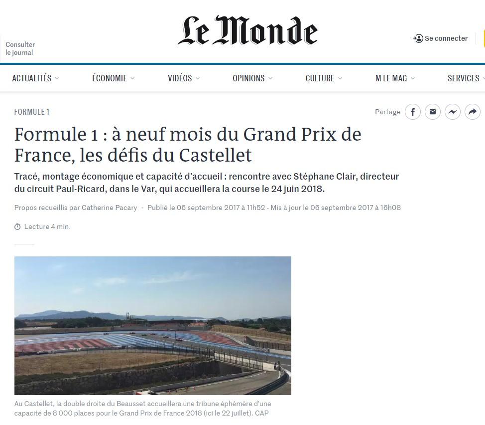 Grand Prix de France – Le Monde