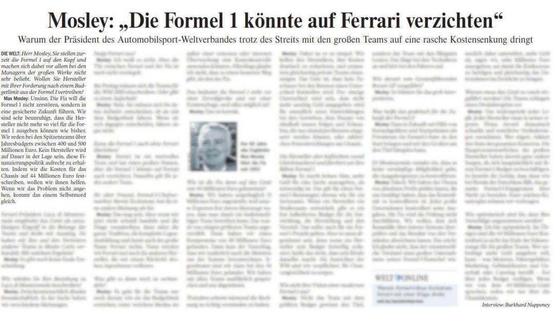 FIA – Die Welt
