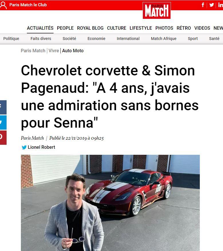 Simon Pagenaud – Paris Match
