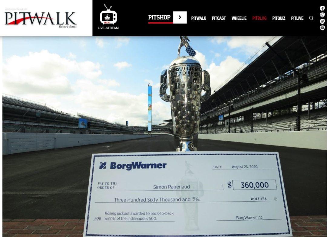 Borg Warner – Pitwalk