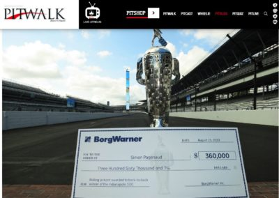 Borg Warner – Pitwalk