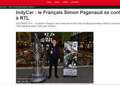 Simon Pagenaud – RTL